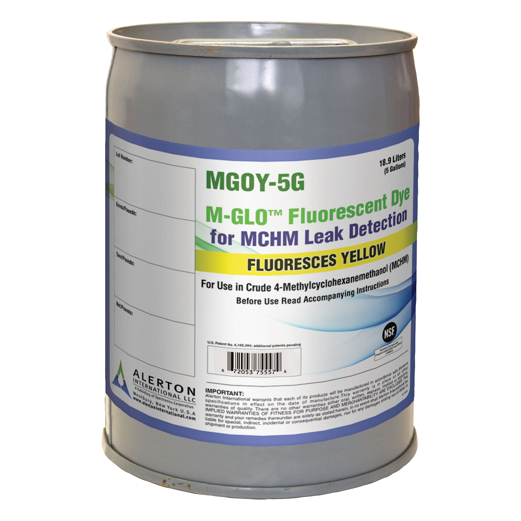 M-GLO™ Fluorescent Leak Detection Dye